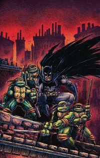 Batman Teenage Mutant Ninja Turtles III #2 (of 6) (Eastman Variant)