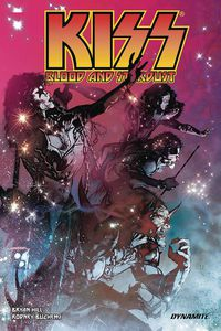 Kiss Blood Stardust TPB