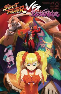 Street Fighter vs. Darkstalkers #7 (of 8) (Cover B - Cruz)