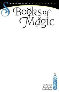 Books of Magic #1 (Blank Variant)