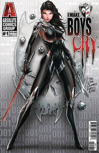 I Make Boys Cry #1 (Cover C - Tyndall Wraparound Lenticular)