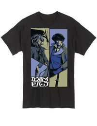 Cowboy Bebop Spike and Vicious T-Shirt XXL