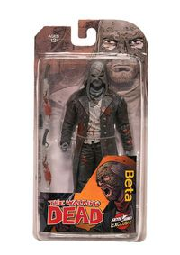 Walking Dead Beta Action Figure (B&W Bloody)