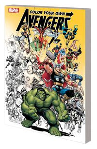 Color Your Own Avengers TPB
