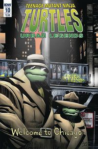 Teenage Mutant Ninja Turtles Urban Legends #10 (Cover A - Fosco)
