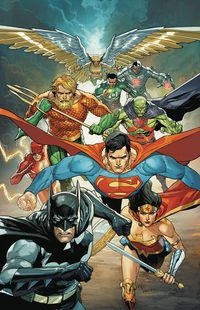 Justice League #22 (Yu Variant)