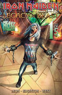 Iron Maiden Legacy O/T Beast Vol 2 Night City #1 (Cover A - Casas)