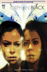 Orphan Black comics at TFAW.com