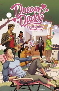 Dream Daddy Dad Dating Comic Book TPB