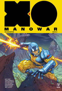 X-O Manowar Matt Kindt Deluxe HC Vol 01