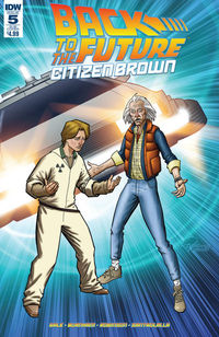 Back to the Future Citizen Brown #5 (of 5) (Subscription Variant)