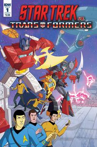 Star Trek vs Transformers #1 (of 4) (Cover A - Murphy)