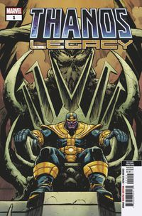 Thanos Legacy #1 (2nd Printing Level Variant)
