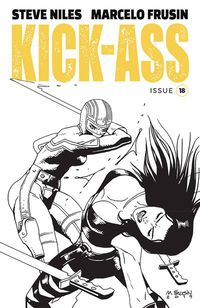 Kick-Ass #18 (Cover B - Frusin)