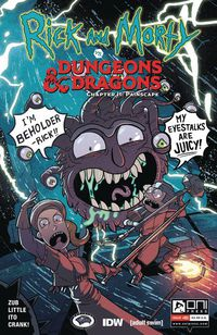 Rick & Morty vs Dungeons & Dragons II Painscape #1 (Cover B - Zub)