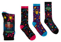 Stranger Things Palace Arcade Crew Socks
