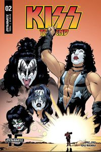 Kiss End #2 (Cover B - Coleman)
