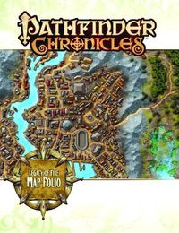 Pathfinder Chronicles Map Folio Legacy Fire