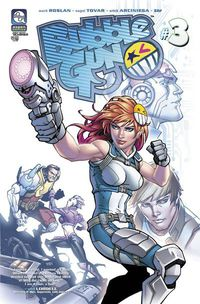 Bubblegun Vol. 2 #3 (Cover B - Green)
