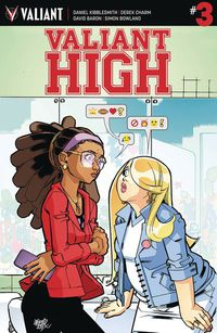 Valiant High #3 (of 4) (Cover A - Lafuente)