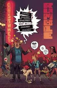 Rumble #7 (Cover C - CBLDF Censored Variant)