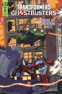 Transformers Ghostbusters #2 (Cover A - Schoening)