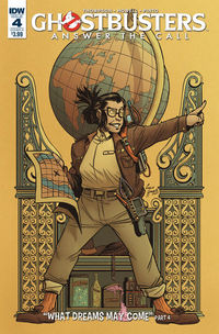 Ghostbusters Answer the Call #4 (Cover A - Howell)