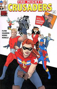 Mighty Crusaders #2 (Cover C - Towe)