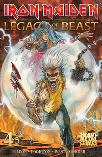 Iron Maiden Legacy of the Beast #4 (of 5) (Cover A - Casas)