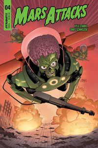 Mars Attacks #4 (Cover B - Coleman)