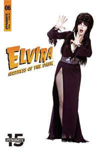 Elvira Mistress of Dark #6 (Cover D - Photo Sub Variant)