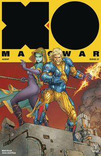 X-O Manowar #22 (Cover A - Rocafort)