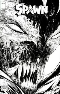 Spawn #292 (Cover C - Black and White)