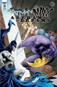 Batman the Maxx Arkham Dreams #3 (of 5) (Cover A - Kieth)