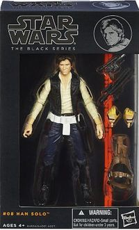 Star Wars The Black Series Han Solo Figure 6 inch