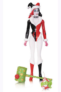 Designer Series Conner Holiday Harley Quinn Action Figure