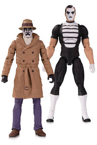 Doomsday Clock Rorschach Mime Action Figure 2 Pack