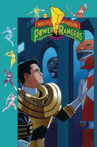 Mighty Morphin Power Rangers #28 (Subscription Gibson Variant)