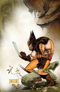 Wolverine Exit Wounds #1 (Keith Variant)