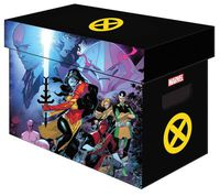 Marvel Graphic Comic Boxes X-Men