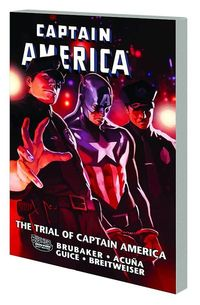 Captain America Trial of Captain America TPB