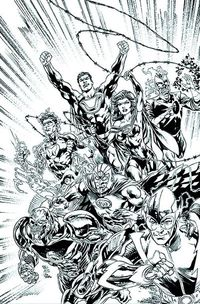 Justice League #24 (Black & White Variant Cover Edition)