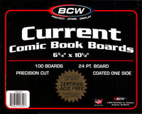 Current Comic Backing Boards - 100 pack