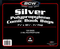 Silver Bag 100 pack