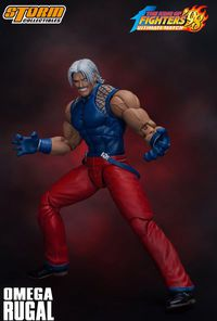 Omega Rugal -King of Fighters '98 1/12 Action Figure