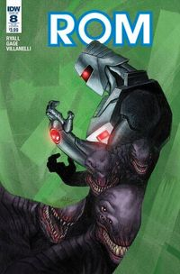 Rom #8 (Subscription Variant A)