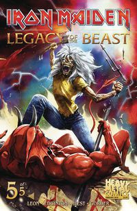 Iron Maiden Legacy of the Beast #5 (of 5) (Cover A - Casas)