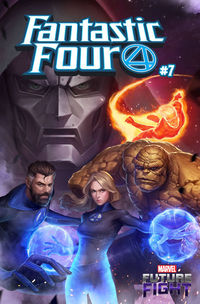 Fantastic Four #7 (Yongho Cho Mystery Variant)