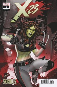 X-23 #9 (Lupacchino Skrulls Variant)
