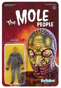 Universal Monsters Mole Man Reaction Figure